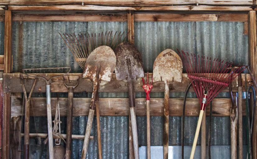 Une remise en bois pour jardinier